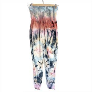 Young Fabulous and Broke High Waisted Tie Dye Jogg